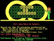 Wheel of Fortune on Msdos