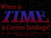 Where in Time Is Carmen Sandiego? on Msdos game