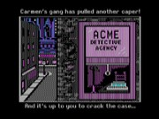 Where in the World Is Carmen Sandiego? on Msdos