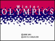 Winter Olympics - Lillehammer 94 on Msdos