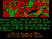 The Wizard of Oz on Msdos