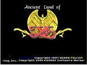 Ys I: Ancient Ys Vanished game