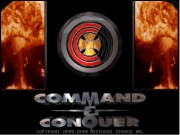 Command & Conquer (has lag between title and main menu, refresh page for better performance.)