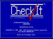 CheckIt 3.0 - PC Diagnose Programm Game