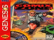 Comix Zone (Sega Genesis in DOSBOX) Game