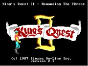 Kings Quest II: Romancing the Throne Game