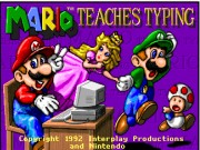 Mario Teaches Typing Game