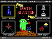 MATH BLASTER PLUS! Game