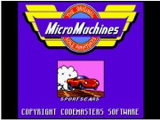 Micro Machines on Msdos