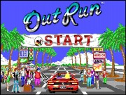 OutRun on Msdos
