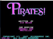 Pirates! on Msdos Game