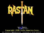 Rastan on Msdos Game
