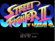 Super Street Fighter II Turbo - Demo Version Game
