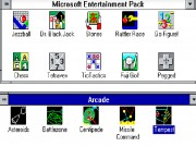 MS Entertainment Pack/Arcade for Windows Game