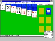 Windows Solitare Game